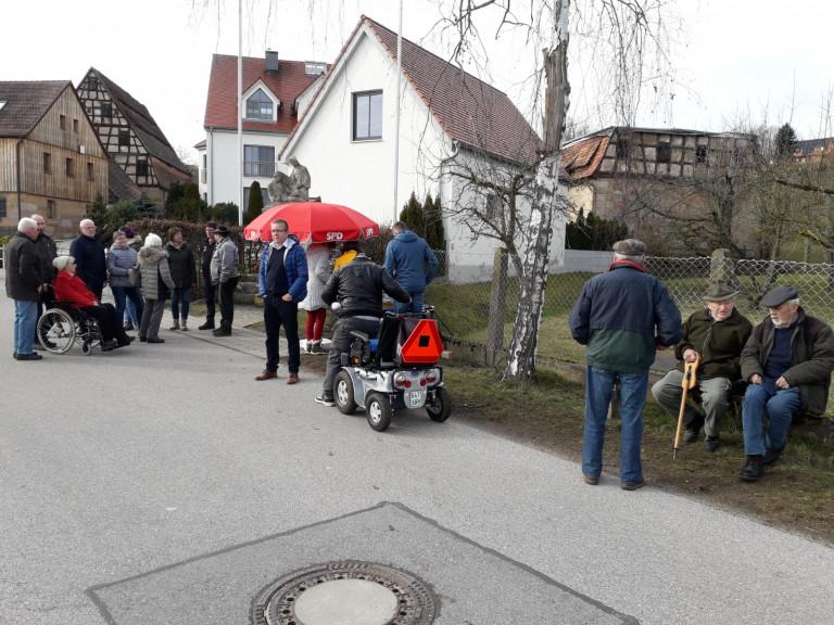 Bürgergespräche der SPD-Kandidaten in Mäbenberg