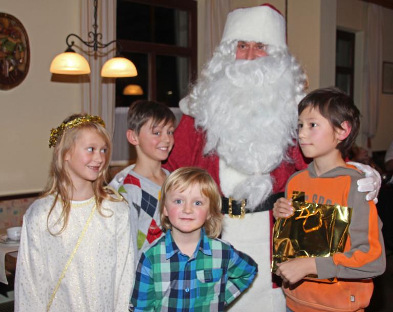 Weihnachtsfeier 2013 Nikolaus